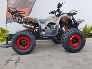 Quad Barton ATV FORCE 125 moro HUSKY